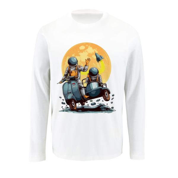 T-shirt με μακρύ μανίκι