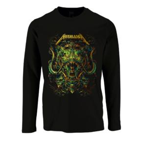 T-shirt Metallica μακρυμάνικο