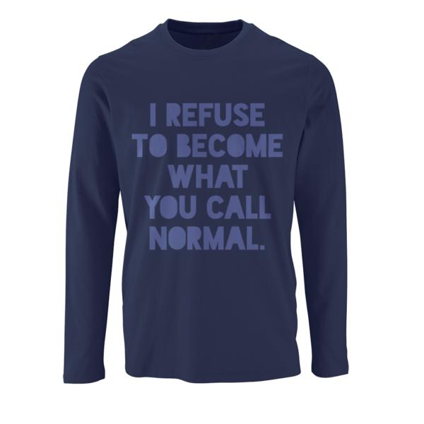 REFUSE T-shirt μακρυμάνικο
