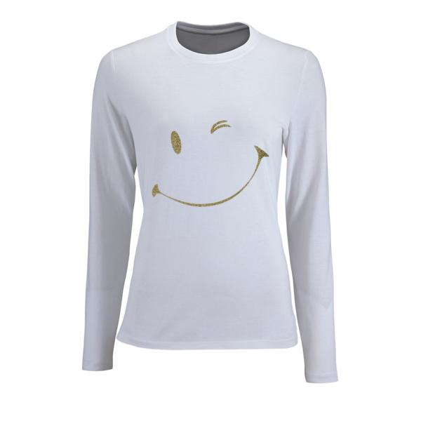 Γυναικεία μπλούζα με γκλίτερ